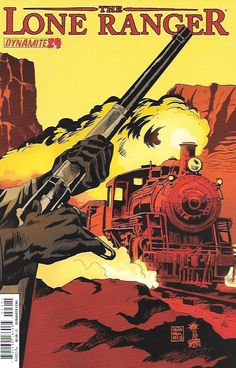 Yellow Boy ___Written by Ande Parks. Art by Esteve Polls. Cover by Francesco Francavilla , The Story .... The Lone Ranger and Tonto abandon their horses to pursue a murderous band of Old West robbers