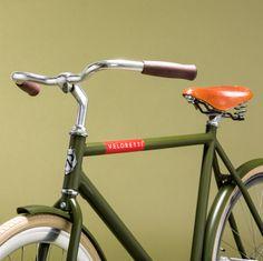 CAFÉRACER – SCREAMIN' OLIVE #veloretti #retrofiets #designfiets #vintagefiets #lifestylebike