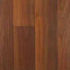 South Gate Wood Laminate Flooring Amber Walnut Color