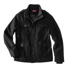 Merona Men's 4-Pocket Jacket - Ebony XL