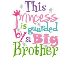 This Princess is Guarded by Big Brothers by BowtasticBoutique22, $16.00