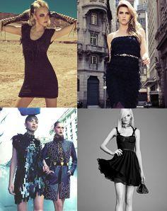 A moda é inquieta e rápida. Para o inverno 2012, um vestido preto curto deve ter presença obrigatória no armário de qualquer mulher. Não importando o tecido, nem o modelo.