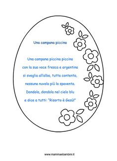 una-campana-piccina-cor Catholic Crafts, Happy Easter, Crafts For Kids, Projects To Try, School, Google, Colors, Spring, Emerald