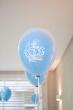 Festa Príncipe - Balão duplo coroa