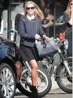 Reese Witherspoon in @Cheryl Blondin Monaco.