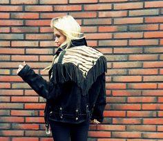 Vtg fringed jacket - by Lainahöyhenissä / Lily.fi