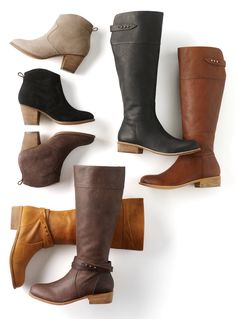 Serious fall eye candy — too hard to pick a favorite? Lands' End Blakely Boot and Harris Suede Boot