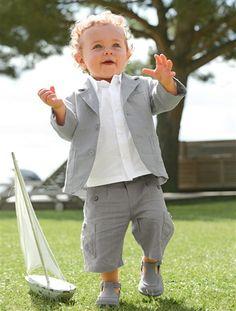 Conjunto de cerimónia bebé menino