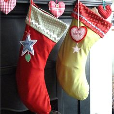 personalised embroidered christmas stocking by laura windebank designs | notonthehighstreet.com