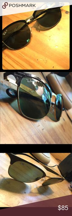 Ray Ban RB 3538 Good condition, almost mint. Has some minor scratches on lens, shouldn't effect vision too much. ray ban Accessories Sunglasses