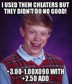 Cheaters never win haha