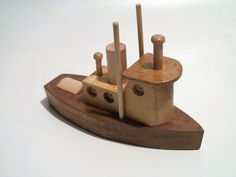 Tug Boat wood toy