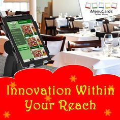 Innovative Solutions Modified for Your Business! Know more here: http://www.imenucards.in  #imenu #tabletmenu #digitalmenu #hotels