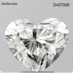 3.01 Carat, E Color, VVS1 Clarity Heart shape 100% natural GIA certified diamond. To place an order Call on 1(800) 618-0057
