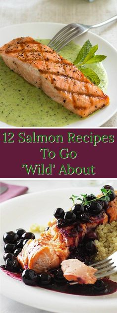 One thing we are wild about around here at Sizzlefish is our Salmon. Our perfectly portioned, wild caught, high-protein, omega-packed salmon! Not only does sa salmon recipes Best Seafood Recipes, Healthy Salmon Recipes, Veggie Recipes, Salmon Recepies, Easy Recipes, Healthy Food, Side Dishes For Salmon, Fish Dishes, Salmon And Shrimp