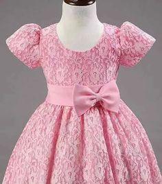 vestidos elegantes para niñas de 1 a 6 años Baby Girl Frocks, Baby Girl Party Dresses, Frocks For Girls, Little Girl Dresses, Girls Frock Design, Baby Dress Design, Kids Dress Wear, Kids Gown, Baby Frocks Designs