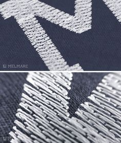The Loose Fill is a stitch that allows you to control the density of the fill required. Example, A Loose fill will expose areas of the fabric showing through. Typically this stitch is used to simulate distressed letters.