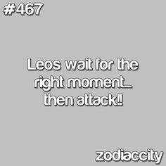 ATTACK Leo. Just biding my time... ;) I'm coming for ya...lol