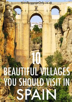 10 Beautiful Villages In Spain That You May Not Have Heard Of But Should Visit! - Hand Luggage Only - Travel, Food Oh The Places You'll Go, Places To Travel, Travel Destinations, Places To Visit, Places In Spain, Travel Tourism, Nightlife Travel, Holiday Destinations, Granada
