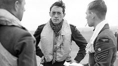 Note the dark circles under the eyes caused by exhaustion and the defiant stance of this RAF pilot.  He flew in The Battle of Britain and kept Hitler from crossing the Channel.