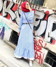 Abaya Fashion, Muslim Fashion, Modest Fashion, Hijab Gown, Hijab Outfit, Hijab Style, Hijab Chic, Modest Dresses, Modest Outfits