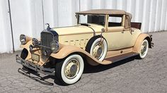 1929 Pierce-Arrow Model 126 Convertible Coupe
