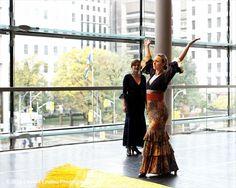 La Ali, Toronto Flamenco Dancer and Sylvia Temis, Toronto, Flamenco Singer