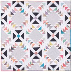 Striking Strip Quilts by Kate Henderson: Flying Geese