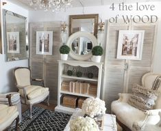 4 the love of wood: {Our House}
