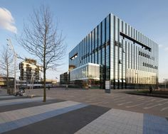 Gallery of Corby Cube: Civic Hub and Arts Centre / Hawkins\Brown - 6