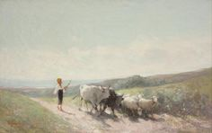 Grigorescu – sincer și simplu – My mind is my shelter Subic, Human Pictures, The Shepherd, Verona, Cattle, Cow, Drawings, Animals, Masters