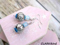 Ohrringe Silber XL Metallkugeln von CLARKIkind