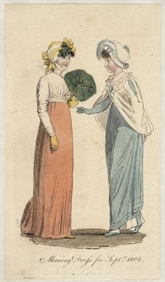 The Lady's Museum, Morning Dress, September 1801.