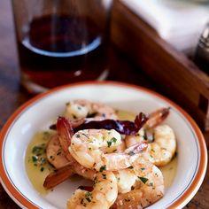 Garlicky Shrimp with Olive Oil | Food & Wine