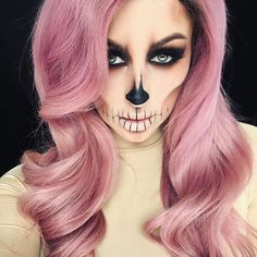 Tutorial on this look is up on my channel! Click the link in my bio to watch!  Inspired by the beautiful @vickym0n  Hair by @radiantlondonsalon #chrisspy #halloween