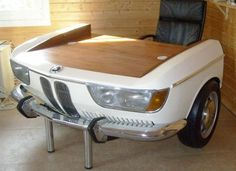 how to reuse and recycle old cars for home furnishings in retro styles