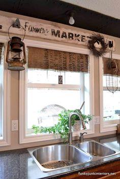 Cute decor for the kitchen!                                                                                                                                                      More