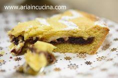 Blog di cucina di Aria: Crostata con crema di marroni fatta in casa e ricotta
