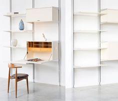 Herman Miller George Nelson CSS modular wall unit - furniture-love.com