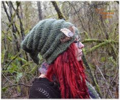 Elf hats by Kelsey Bat https://www.etsy.com/listing/266433350/elf-hat-forest-gnome