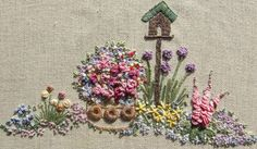 PDF In an English Country Garden Needlecase by lornabateman22