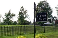 My amazing grandparents, Sterling (Stutz) and Bernice Kanzeg are buried at West Park Cemetary in Cleveland, Ohio.