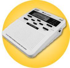 Midland All Hazards Radio with Weather Alert by Midland at Fleet Farm Radios, Noaa Weather Radio, Radio Online, Weather Alerts, Severe Weather, Disaster Preparedness, Civilization, Just In Case