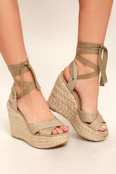 a5b705986eb 25 Best Summer Wedges Shoes images