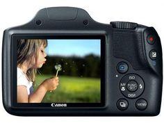 """Câmera Digital SemiProfissional Canon SX520 HS - 16.0MP LCD 3"""" Zoom Óptico 42x Full HD Cartão 8GB com as melhores condições você encontra no Magazine Dufrom. Confira!"""