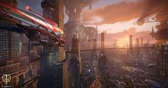 A city in Skyforge