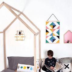 Pom Pom Twin House Bed