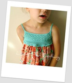 crochet bodice dress #inspiration #dress #crochet