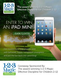 1-2-3 Magic has worked in our family, but you have to be consistent. Now you can enter to win an iPad mini!