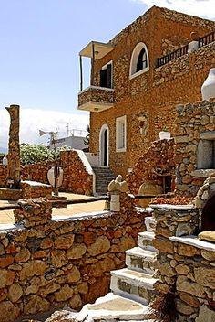 Lychnostatis Open Air Museum, Museum of the traditional Cretan life, Hersonissos, Crete, Greece, Europe